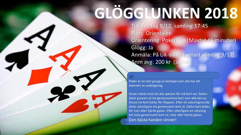 Inbjudan Glögglunken 2017
